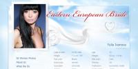 Страница профиля